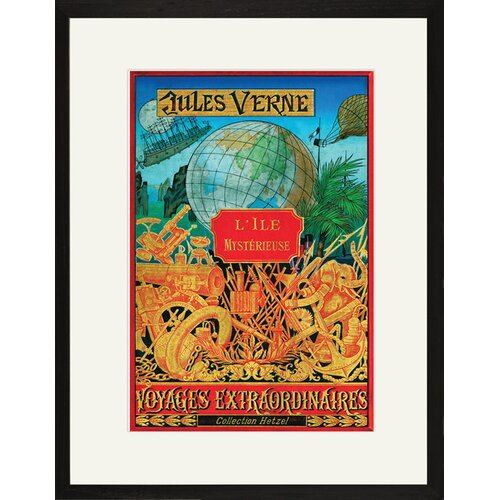 Buyenlarge L' Isle Mystereuse Framed Vintage Advertisement