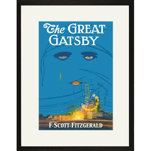 Buyenlarge The Great Gatsby Framed Graphic Art