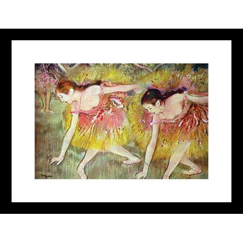 Ballet dancers Framed Painting Print