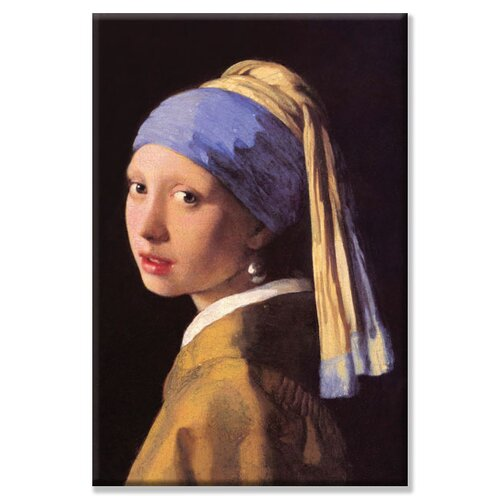 The Girl with the Pearl Earring Painting Print on Canvas