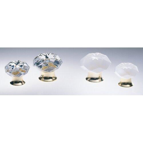 Omnia Crystal Round Knob