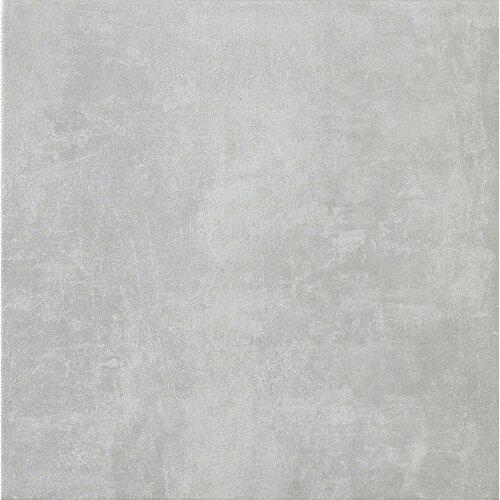 """Marca Corona Reactions 4"""" x 4"""" Glazed Porcelain Field Tile in Grey"""