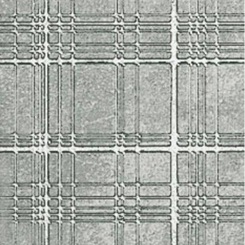 "Marca Corona Reactions 4"" x 4"" Porcelain Metal in Grey"