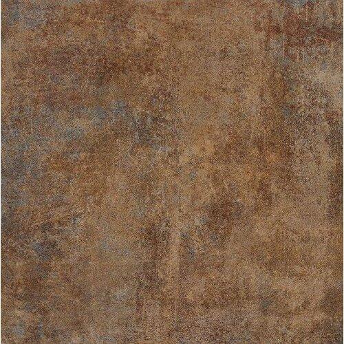 """Marca Corona Reactions 12"""" x 3"""" Bullnose Tile Trim in Brown"""