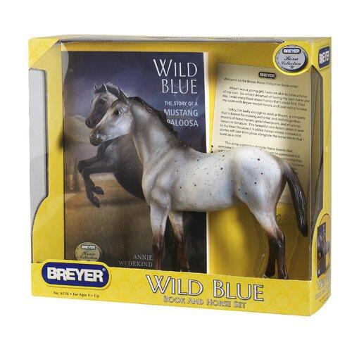 Breyer Horses Wild Blue Horse and Book Set