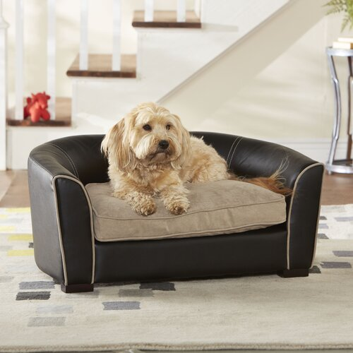 Enchanted Home Pet Ultra Plush Remy Dog Sofa Reviews Wayfair