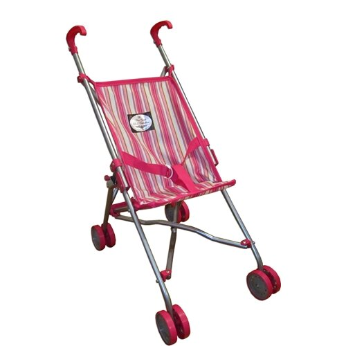 The New York Doll Collection Travel Doll Stroller