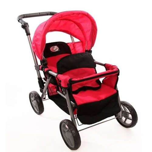 The New York Doll Collection Twin Doll Stroller