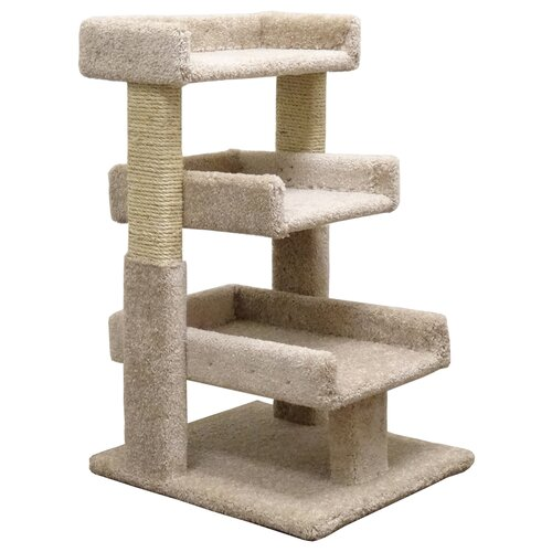 New Cat Condos 32 Triple Cat Perch Reviews Wayfair