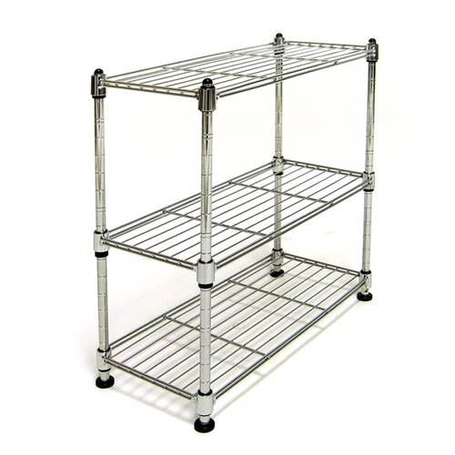 Seville Classics Mini 3 Tier Shelf Organizer