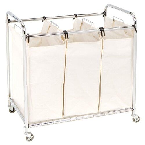 Seville Classics 3 Bag Laundry Sorter