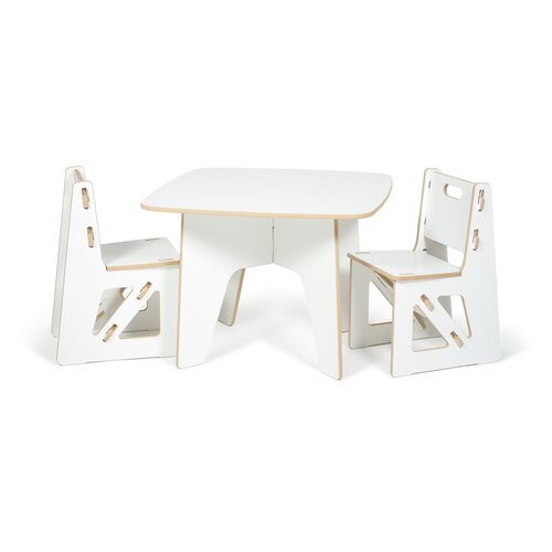 Sprout Kids 3 Piece Table & Chair Set