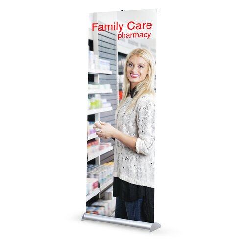 Testrite Mercury Retractable Banner Stand (1-sided)