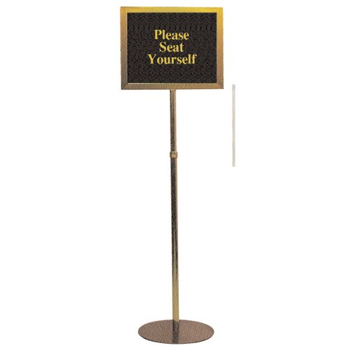 Testrite Pedestal Signframes (With or Without Sign Packs)