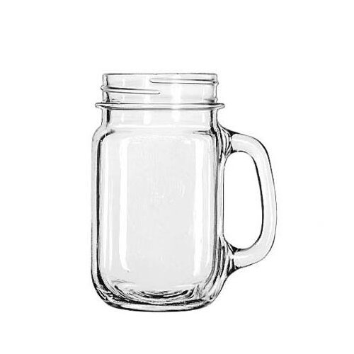 Libbey Mugs and Tankards 16.5 oz. Drink Jar
