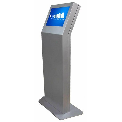 "Insight Digital Signage Vision Kiosk Indoor/Outdoor Touch Screen Digital Signage Enclosure for 24"" LCD"