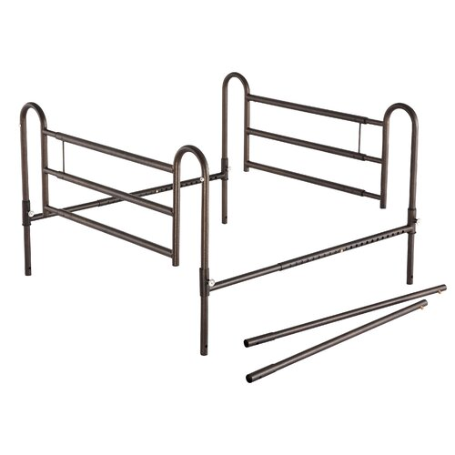 Essential Medical Home Bed Rails with Extender