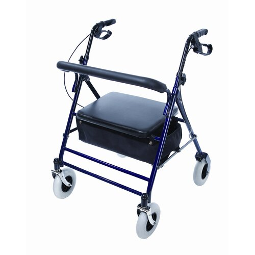 Endurance HD Heavy Duty 4 Wheel Rolling Walker