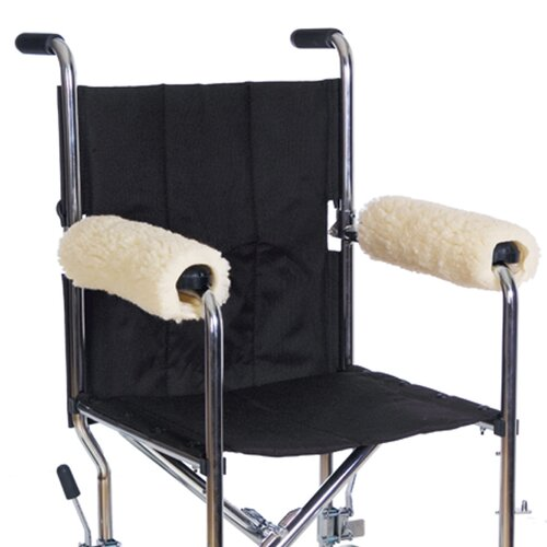Essential Medical Sheepette Wheelchair Armrest Pads