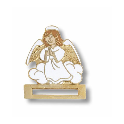 Prestige Medical Guardian Angel Cloisonne Badge Tac