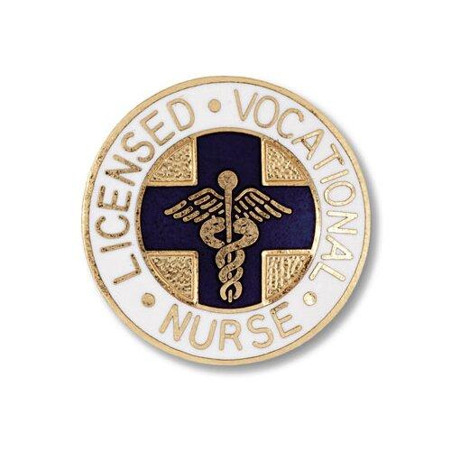 Prestige Medical Licensed Vocational Nurse with Emblem Pin