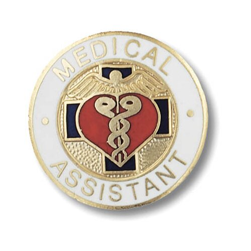 Prestige Medical Medical Assitant Emblem Pin