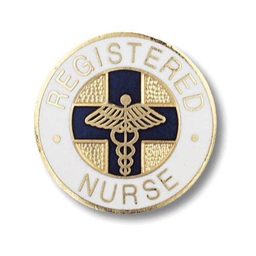 Prestige Medical Registered Nurse with Emblem Pin