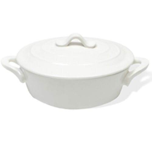 White Basics Oval Mini Casserole