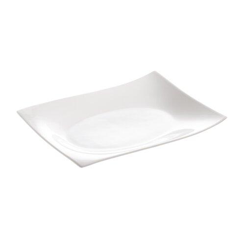 "Maxwell & Williams White Basics Motion Rectangular 12"" Plate"