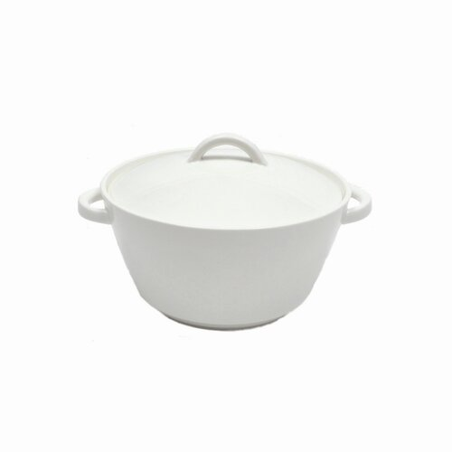 White Basics Cosmopolitan Porcelain Round Casserole