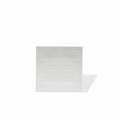 "Maxwell & Williams White Basics Cirque Square 6"" Platter"