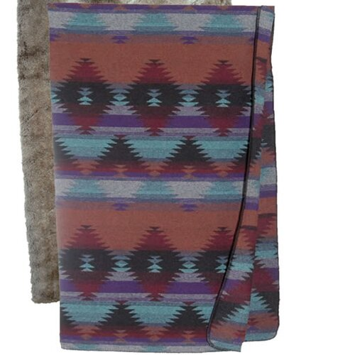 Wooded River Painted Desert Throw