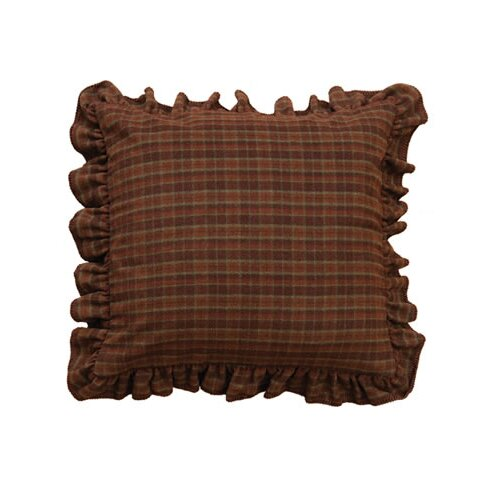 Wooded River Cabin Bear Alternative Euro Sham