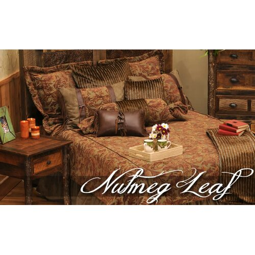 Nutmeg Leaf 7 Piece Bedding Set