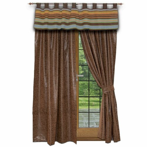 Wooded River Hudson Tab Top Drape Panel