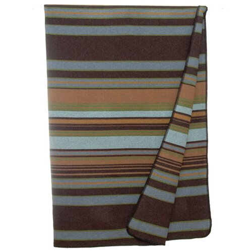 Wooded River Hudson Wool Blend Throw