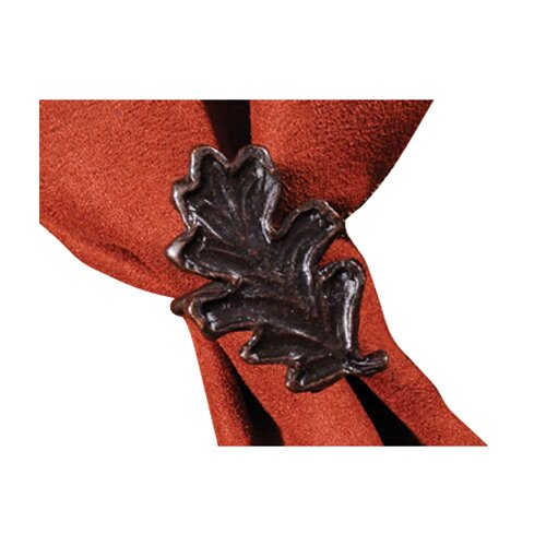 Wooded River Table Top Leaf Napkin Ring