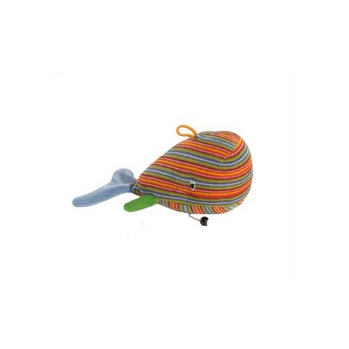 Lana Whale Organic Stuffed Animal with Music Box