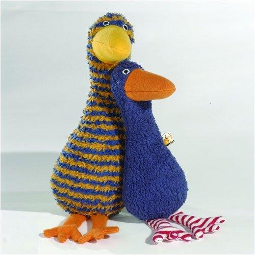 Lana Goose Organic Stuffed Animal in Blue