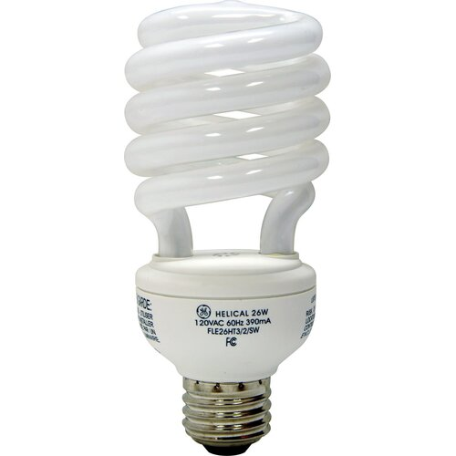 GE 26W 120-Volt Fluorescent Light Bulb