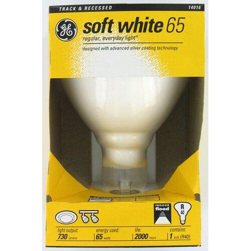 GE 65W 120-Volt (2600K) Light Bulb