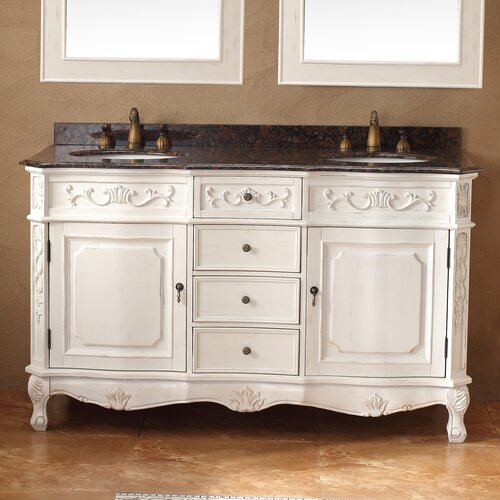 James martin furniture classico 60 double bathroom vanity - Wayfair furniture bathroom vanities ...