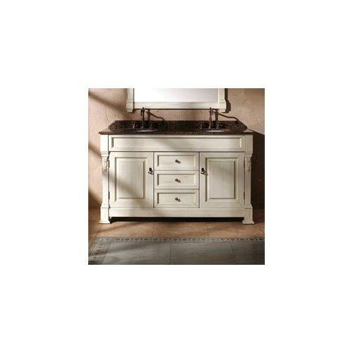 "James Martin Furniture Brookfield 60"" Double Bathroom Vanity Base"