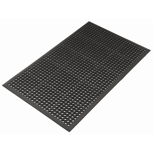 Kushion Safe Light Molded Rubber 3' x 5' Mat in Black