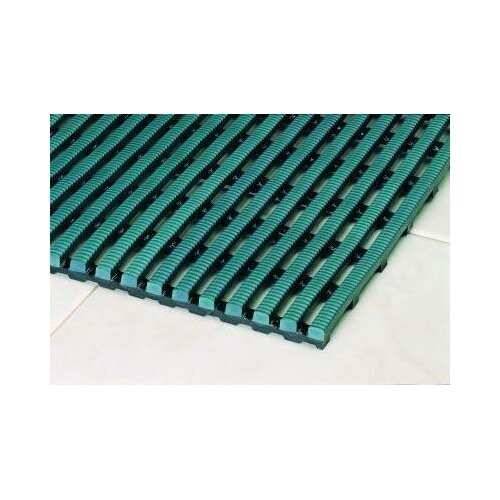 Mats Inc. World's Best Barefoot Mat 3' x 5' Safety and Comfort Mat in Forest Green