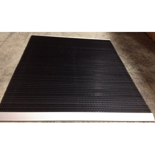 "Mats Inc. The Ultimate 48"" x 36"" Outdoor Bristle Mat in Black"