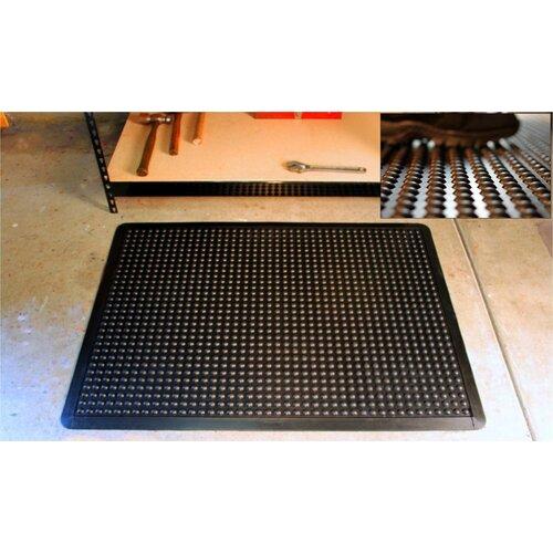 Mats Inc. Cloud Nine  2' x 3' Ergonomic Mat in Black