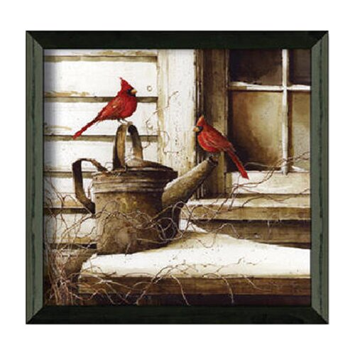 Timeless Frames WaitIng on SprIng by John Rossin Framed Painting Print