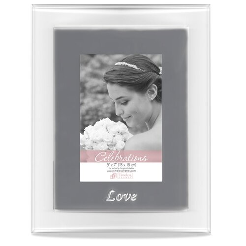 Timeless Frames Glass Love Picture Frame