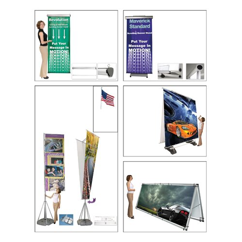 Exhibitor's Hand Book Wind Dancer Telescopic Outdoor Flagpole